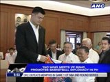 Yao meets Binay, promotes basketball diplomacy