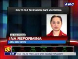 Corona indicted for tax evasion