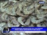 DA suspends Asian shrimp imports