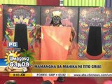 'Quick mask' artist Cris Castro performs on 'UKG'