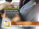 2 soldiers killed in Basilan ambush