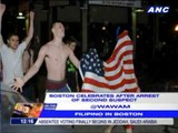 Boston celebrates after arrest of second suspect