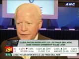 'PH can enter US-led trade deal now; ease foreign ownership rules later'