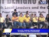 Mar Roxas joins Team PNoy campaign sorties