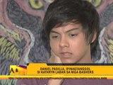 Daniel defends Kathryn against 'bashers'
