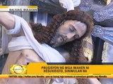 Devotees in Bulacan begin Holy Week tradition