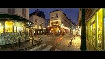 PARIS du lever au coucher du soleil