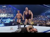 Kane saves The Undertaker from Big Show and Chris Jericho WWE SmackDown 14-05-2015