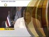 UD. LO VIO - HABLA OSCAR ARIAS EN LA CUMBRE CANCUN FEB. 2010