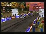 Sega Rally Lake Side Replay - Lancia Delta -  (Sega Saturn)