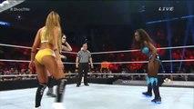 Nikki Bella vs Naomi vs Paige