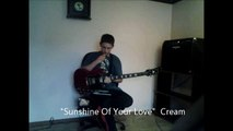"Guitar Cover: ""Sunshine Of Your Love"" Cream"