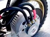 Brushless motorcycle motor