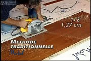 Condo Bois franc Model Installation plancher de bois franc trucs d'installation 7 de 9