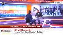 "TextO' : Gérald Darmanin : ""Nicolas Sarkozy a manifestement l'amour des militants"""