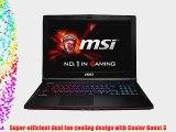 MSI GE62 GE62 APACHE PRO-055 15.6-Inch Laptop (Black)