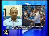 Polls show Obama ahead of Romney in presidential elections - NewsX