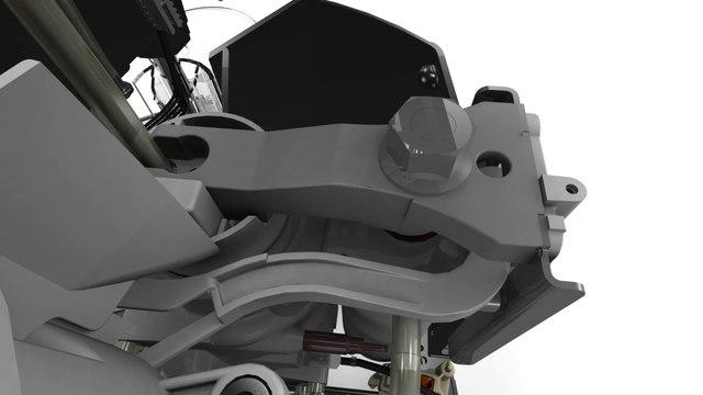 """Animation 3D """"Cappuccino"""" intégrée dans notre application 3Dswipe pour Krups Automatic Expresso"""