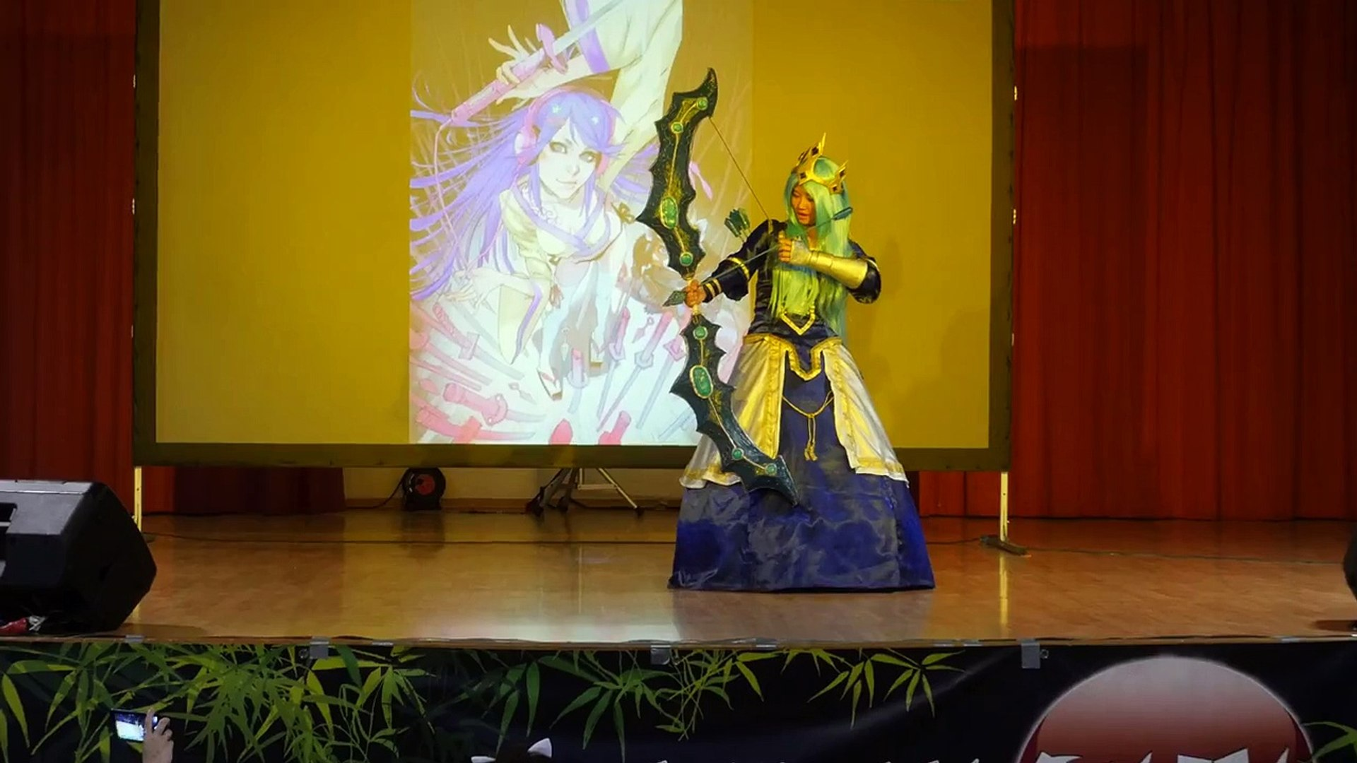 Japan Sun 2015 - Concours Cosplay - 01 - League of Legends - Ashe