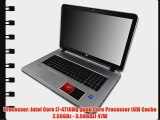 HP Envy 17t i7-4710HQ 16GB 250GB SSD 17.3 Windows 8.1 Laptop Computer