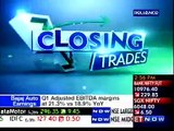 Krishnakumar Natarajan and Rostow Ravanan on ET Now - Closing Trades