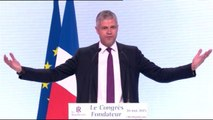 Congrès des Républicains :  le discours offensif de Laurent Wauquiez