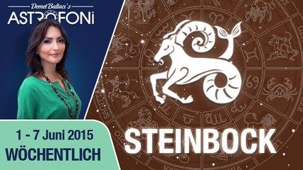 Monatliches Horoskop zum Sternzeichen Steinbock (1-07 Juni 2015)