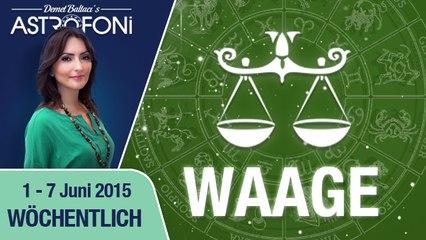Monatliches Horoskop zum Sternzeichen Waage (1-07 Juni 2015)
