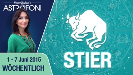 Monatliches Horoskop zum Sternzeichen Stier (1-07 Juni 2015)