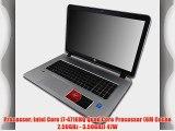 HP Envy 17t i7-4710HQ 16GB 500GB SSD Blu Ray 17.3 Windows 8.1 Laptop Computer