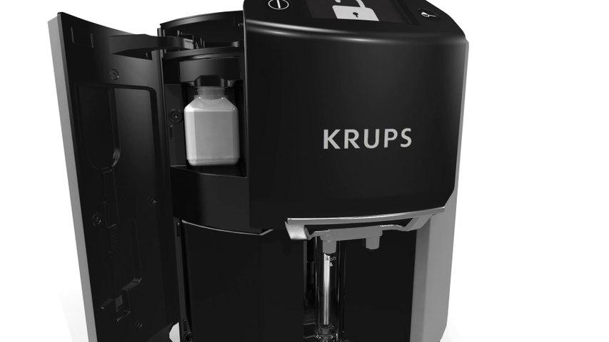 """Animation 3D """"Ground coffee"""" intégrée dans notre application 3Dswipe pour Krups Automatic Expresso"""