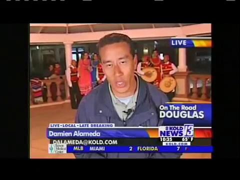 cochise college baseball on kold 2/26/08 10pm news