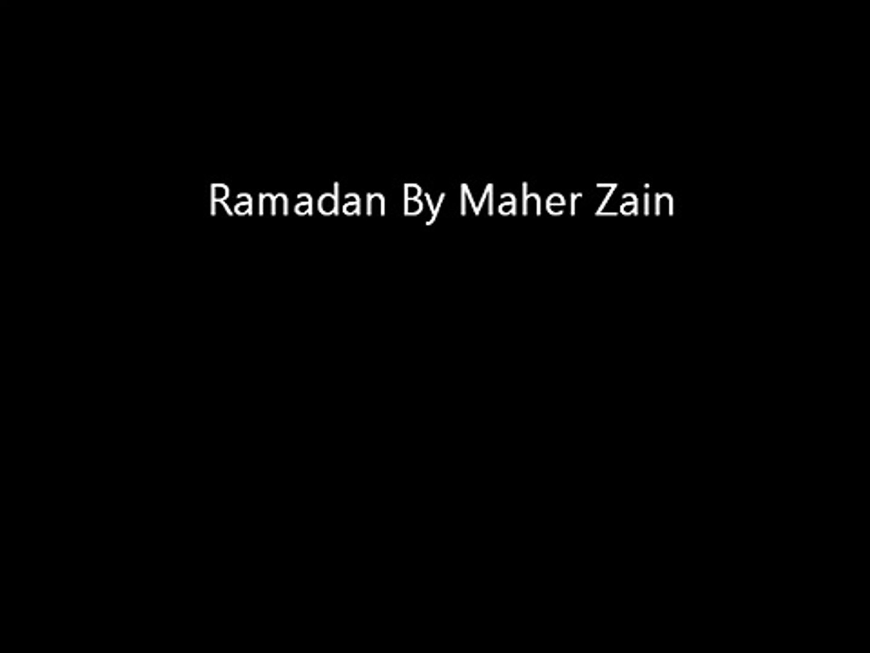 Maher Zain  Ramadan English Version   With Lyrics