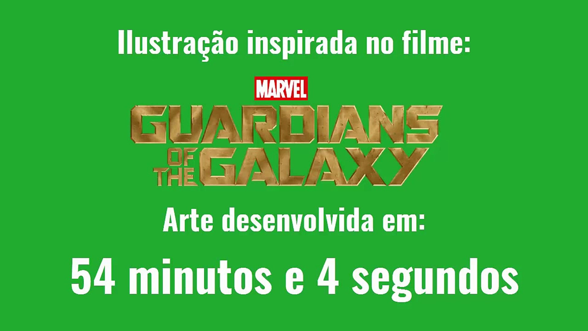 How i Draw  - Baby Groot - Guardiões da Galáxia