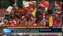Hugo Chávez destaca logros de la Revolución Bolivariana