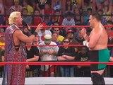 Jeff Jarrett confronts Samoa Joe