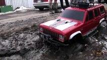RC ADVENTURES  -  MUD, MUD, & MORE RC MUD !! Scale RC 4x4 Trail Trucks