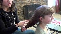 Sock Curls | Easy No-Heat Curls | Cute Girls Hairstyles