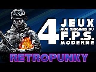 4 Jeux aux Origines du FPS Moderne - RETROPUNKY
