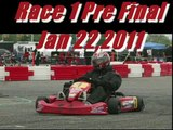 Extreme Kart Racing FWT Rotax Masters Orlando Fl. Whole Race #1 Sat Pre Final