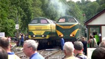 PFT-TSP Cockerill gala 2013 action (inclusive NMBS SNCB 6406!)