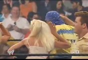 WWE RAW Randy Orton Kisses Brooke Hogan