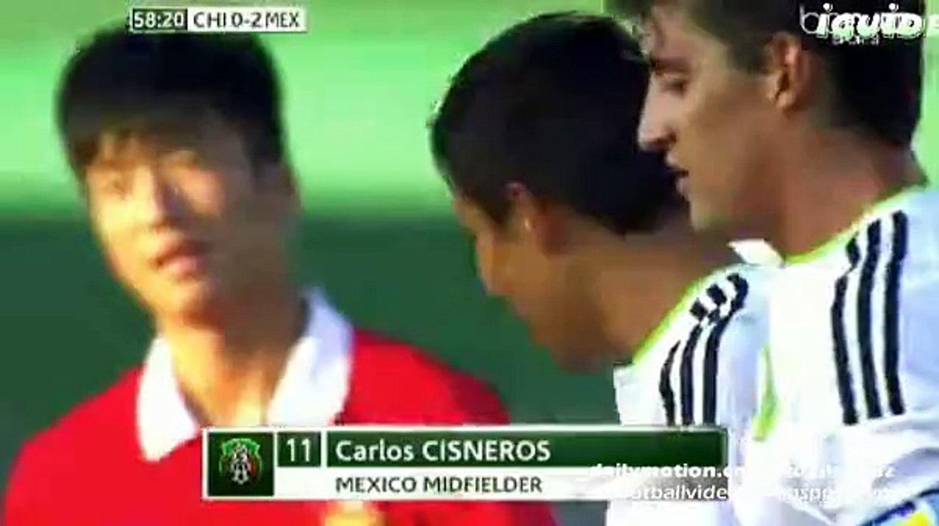 Carlos Cisneros Second Goal 0:2 | China U20 vs Mexico U20 Toulon 01.06.2015