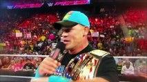 Kevin Owens win against John Cena