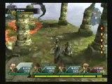 Valkyrie Profile 2 Silmeria 3rd boss battle against Wyvern