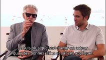 Interview with Robert Pattinson and David Cronenberg for Cosmopolis at the 2012 Cannes Film Festival