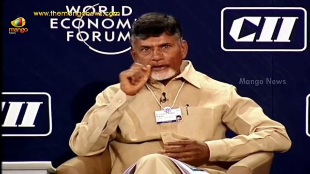 CM Chandrababu Naidu sponsors Andhra Pradesh at World Economic Forum - India Summit