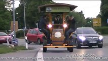 www BierBike de Beer keg advertising on Funny Fun Bike     funny people no music mp4 Jacob BEER 3D