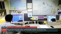 Magnitude 7.2 Quake Strikes Off Kermadec Islands, No Tsunami Alert