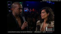 Kanye West Arguing That Beyoncé Deserved to Win Album of the Year at the Grammy Awards